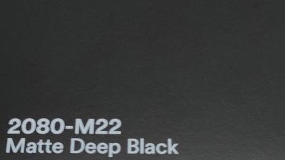 3M 2080 M22 Matte Deep Black yliteippaustarra