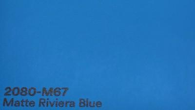 3M 2080 M67 Matte Riviera Blue autoteippi