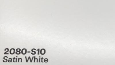 3M 2080 S10 Satin White yliteippaustarra