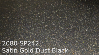 3M 2080 SP242 Satin Gold Dust Black yliteippaustarra